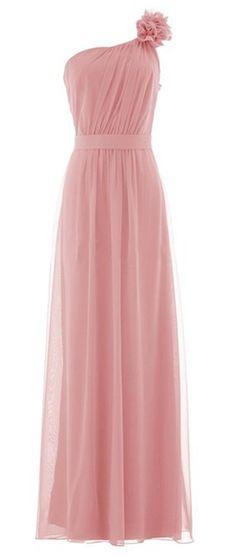 Shoppen Sie Wedding House, Lange Chiffon Kleider Schulter Blumen Festliche  KleiderPPC13 auf Amazon.de Kleider c9d9084a95