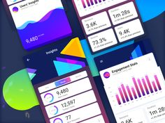 UI KIT - Dashboard Components Wip designed by Abinash Mohanty. Connect with them on Dribbble; Quiz Design, Ui Kit, Things That Bounce, Messages, Fans, Text Posts, Text Conversations