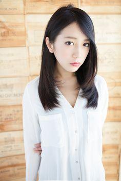 暗髪セミロング   銀座の美容室 AFLOAT JAPANのヘアスタイル   Rasysa(らしさ)