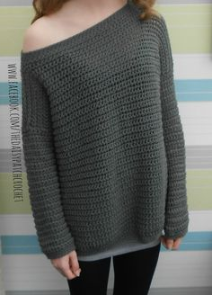 Daisy Off The Shoulder Sweater By Gillian Moore - Purchased Crochet Pattern - (ravelry)
