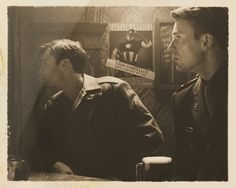 """idrilka: """" ALL PHOTOS ARE CURRENTLY PART OF THE SMITHSONIAN CAPTAIN AMERICA EXHIBIT. 1. Cpt. Steve Rogers and Agent Margaret """"Peggy"""" Carter (Italy, November 1943). 2. Members of the Howling Commandos...."""