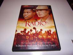 Radio (DVD, 2004) Cuba Gooding Jr , Ed Harris ,  #Columbia