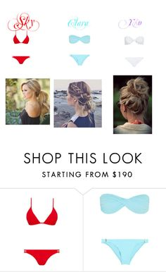 """""""Untitled #40"""" by yourmyclarity0 ❤ liked on Polyvore featuring Melissa Odabash and Marysia Swim"""