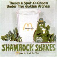 Shamrock Shakes McDonald's - - the magical green shake that helped build the first Ronald McDonald House. Shamrock Shake Mcdonalds, Ronald Mcdonald House, Irish Eyes Are Smiling, Irish Roots, Raise Funds, Galveston, Philadelphia Eagles, St Patricks Day, Childhood Memories