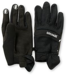 864444c37913 Grenade Murdered Out Black Pipe Snowboard Glove