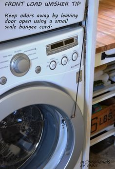 This Diy Handy Device Keeps Your He Washer Door Propped