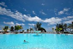 Mauritius, how cool is this pool