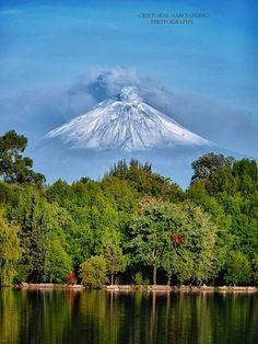 Smoking Volcano and Lagoon by Cristobal Garciaferro Rubio on 500px