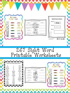 One of our premium printable Sight Words worksheet package downloads in PDF files stored in Zip files. Here is what you get! You are purchasing… Sight Words Printables, Sight Word Worksheets, Writing Worksheets, Printable Worksheets, First Grade, Second Grade, Pre Primer Sight Words, Kindergarten Language Arts, Word Families