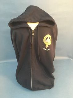 Cotton hooded zip fr