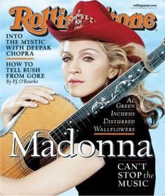 Madonna: The Rolling Stone Covers Pictures   Rolling Stone