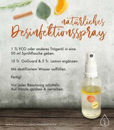 Desinfektionsspray fr die hnde essential empowerment therische le dterra tomtop 75 a lcohol disinfectant m edical anti bacterial hands wash free disinfection spray Natural Disinfectant, Disinfectant Spray, Doterra Essential Oils, Young Living Essential Oils, Doterra Deep Blue, Grapefruit Essential Oil, Natural Baby, Hand Sanitizer, Natural Hair Styles