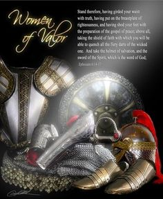 woman armor of God | Woman's Armor of God by Danny Hahlbohm