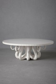 octopus cake stand.