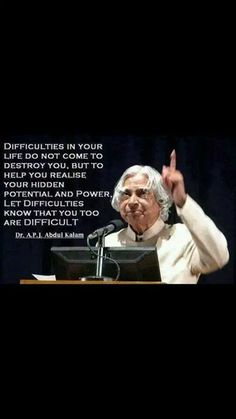 Wisdom Quotes : Dr Abdul Kalam's quote by Life Apj Quotes, Quotable Quotes, Faith Quotes, Girl Quotes, Wisdom Quotes, Quotes To Live By, Best Quotes, Motivational Quotes, Inspirational Quotes