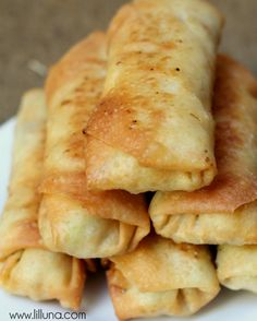 Super simple and super delicious Fried Egg Rolls