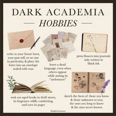 Journaling, Old Letters, The Secret History, Way Of Life, Academia, Instagram Feed, Light In The Dark, Hobbies, Activities
