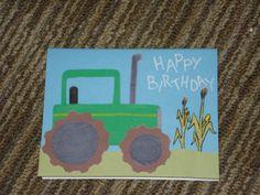 "Happy Birthday ""Tractor"" Card"