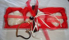Red Rhapsody-Elegant Gift Set for Women by JoannasScentedSoaps