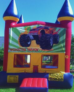 spring party rentals Monster truck $125 up to 6 hours 13L x 15W x 15H