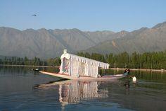 Shikhara on Dal Lake in the Kashmiri Valley