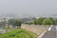 Hwaseong Fortress, Suwon went summer 2013