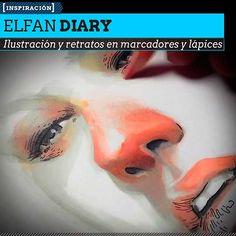 Ilustración, bellos retratos y gran técnica de ELFAN DIARY. Marcadores, lápices, acuarela y mucho talento desde Indonesia.  Leer más: http://www.colectivobicicleta.com/2013/05/Retratos-de-ELFAN-DIARY.html#ixzz2T0iKURzw