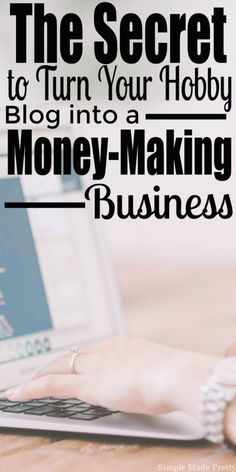 This one thing can change your blog (and your life)! Keep reading for how to tranform your Hobby Blog into a Money Making Business