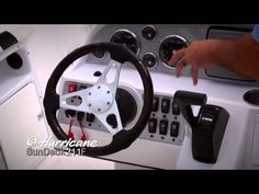 Hurricane SunDeck Sport 211 OB Product Walk-Through - This video says it all - amazing boat.