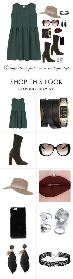 """""""Vintage"""" by youngsmile ❤ liked on Polyvore featuring Givenchy, YEEZY Season 2, Gucci, Topshop, Maison Margiela and vintage"""