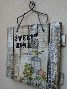 Estas son algunas de las cosas que se sumaron esta semana.....       Para decorar tus paredes        Madera & chapa & inscripciones...