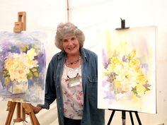 Interview with Wendy Tait at Patchings Art Festival 2013 | Watercolour Journey by Ian McKendrick - Wendy Tait