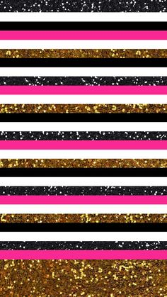 Find images and videos about pink, wallpaper and gold on We Heart It - the app to get lost in what you love. Glitter Wallpaper, Striped Wallpaper, Pink Wallpaper, Colorful Wallpaper, Cool Wallpaper, Pattern Wallpaper, Wallpaper For Your Phone, Locked Wallpaper, Cellphone Wallpaper