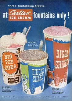 At Sealtest Ice Cream Fountains Only! by MewDeep, via Flickr