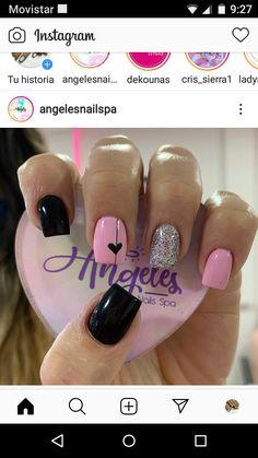 Beauty Nails, Hair Beauty, Foil Nails, Hair And Nails, Manicure, Nail Designs, Nail Art, Work Nails, Tattoo