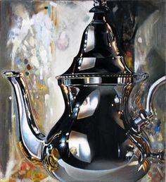 """Saatchi Art Artist Leo Wijnhoven; Painting, """"8 o'clock news"""" #art"""