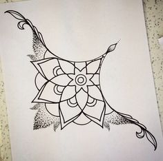 Sternum tattoo -- add a bit of color and I love it! Simple but elegant