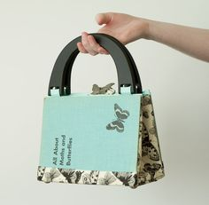 Butterfly book purse