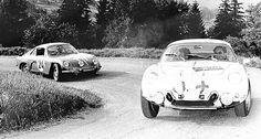 This Alpine A110 and Renault Estafette are the perfect Tour Auto twosome | Classic Driver Magazine