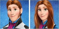 Hans would look better as a girl don't you think?