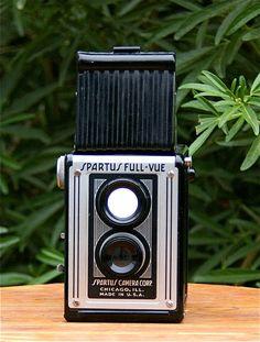 Vintage Spartus FullVue Twin Lens Reflex Style by CanemahStudios