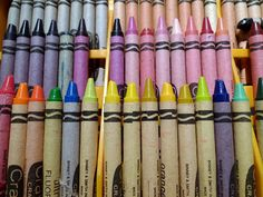 Old School Crayola Crayons
