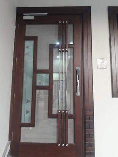 Flush Door Design, Door Gate Design, Bedroom Door Design, Door Design Interior, Single Main Door Designs, Door Design Images, Wooden Front Door Design, Ceiling Design, Wood Doors