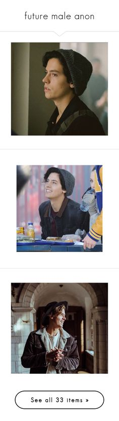 """""""future male anon"""" by https-art-h0es ❤ liked on Polyvore featuring cole sprouse, photos, riverdale, people, filler, cole, pictures, boys and celebs"""