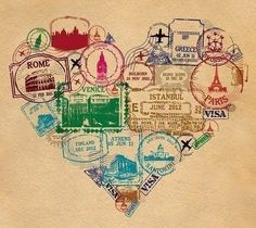 Are you interested in our passport stamp heart print? With our personalised heart print you need look no further. Istanbul, Passport Stamps, Passport Template, Stamp Printing, Thinking Day, Heart Print, Adventure Is Out There, Travel Quotes, Wanderlust Quotes