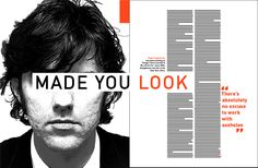"I like the way the ""made you look"" covers up the eyes. its ironic"