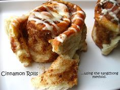 Home Cooking In Montana: Cinnamon Rolls and Orange-Macadamia Nut Sweet Rolls...using the tangzhong method.