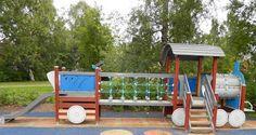 Otetaan hiekkalelut mukaan!: Veturipuiston leikkipuisto