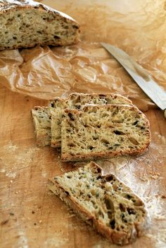 Mat på Bordet: no-knead bread Onion Bread, No Knead Bread, Crackers, Baked Goods, Bread Recipes, Banana Bread, Favorite Recipes, Baking, Eat