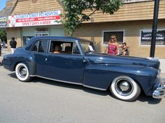 1947 Lincoln Continental - Side 1947 Lincoln Continental - Rear 1947 ...